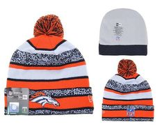 Now you can look like the Denver Broncos players on game day with this NFL Beanie . .Features Broncos team logo to go along with Denver Broncos retro logo. This is an absolute must-have for any Footba