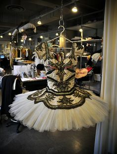 Costume for Aurora in Act 3 of The Sleeping Beauty,  The National Ballet of Canada.