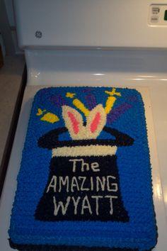 Magician Cake for The Amazing Wyatt's 7th Birthday!!