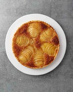 Pears are great source of dietary fiber cleansing our body and good for our skin. Pear Frangipane Tart