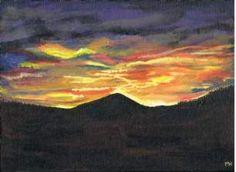 Sunrise of Ben Rinnes