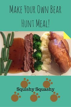 Is your little one a fussy or picky eater? Take a look at my write up of turning an average roast dinner into a complete bear hunt, based on We're going on a bear hunt book - a children's classic story : ) Try out this idea with your toddler and see if t