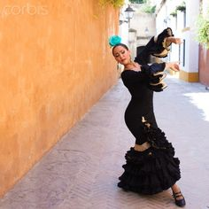 Professional Flamenco dancers performing in Seville. Flamenco Dancers, Rich Image, Music Licensing, Seville, Photo Library, Royalty Free Photos, Spain, Ballet Skirt, Stock Photos