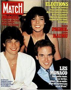 Princesse Caroline de Monaco, Princesse Stéphanie de Monnaco et Prince Albert de Monaco