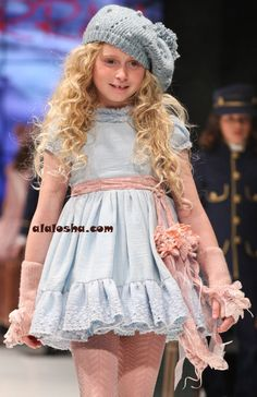 ALALOSHA: VOGUE ENFANTS: Larrana FW2013/2014 FIMI FASHION SHOW