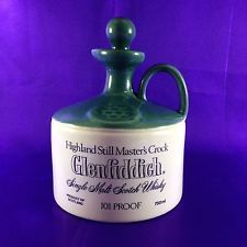Glenfiddich Whisky Decanter 101 Proof (Empty) Highland Still Masters Crock Cigars And Whiskey, Scotch Whiskey, Bourbon Whiskey, Glenfiddich Whisky, Whisky Club, Japanese Whisky, Ceramic Jars, Coffee And Books, Bottles And Jars