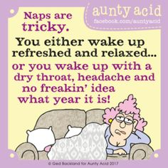 Aunty Acid for 9/2/2017