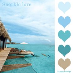 Tan + blues  Snorkling love color board  for my living room?
