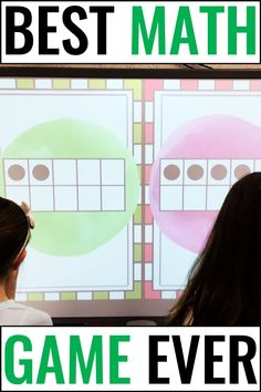 Prekindergarten, kindergarten, and first graders will love this Number Sense KNOCKOUT {Counting & Subitizing}. This pack includes 5 games of 30 slides each that cover counting and subitizing. This quick-paced game also builds character by emphasizing teamwork and good sportsmanship for preschool, kinders, and 1st grade students. Grab a free sample to see if your students love this exciting review that can be used in a center or as a whole class. Your students will be begging for more knockout. Smart Board Activities, First Grade Activities, Subtraction Activities, Phonics Activities, Math Games For Kids, Fun Math, Classroom Games, Classroom Ideas, Kindergarten Math