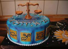 Zodiac Cake - Sternzeichen Torte