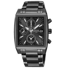 Pulsar Men's PF8137 Chronograph Black Ion Plated Stainless Steel Watch Pulsar. $95.00. Strong Hardlex crystal protects watch from excessive wear on dial. 1/20th second stop watch, records elapsed time up to 60 minutes, split time measurement. Quality Japanese-Quartz movement. Water-resistant to 165 feet (50 M). Stainless steel case; black dial; date function; chronograph functions. Save 49% Off!
