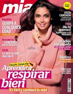 Revista MÍA 1476, #enero 2015. #PatriciaYurena. Aprende a #respirar bien. #Guapa a cualquier edad. #Psico: ¡planta cara a los problemas!