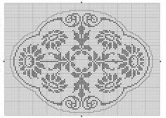 Oval | gancedo.eu Crochet Men, Thread Crochet, Crochet Gifts, Vintage Crochet, Crochet Lace, Cross Stitch Samplers, Cross Stitch Charts, Cross Stitch Designs, Cross Stitch Patterns