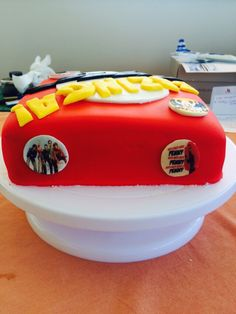 Bazinga birthday cake
