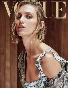 Supermodel Anja Rubik Stars in Vogue Mexico February 2017 Cover Story