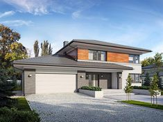 Outside House Paint, House Outside Design, My Home Design, Modern House Design, 4 Bedroom House Designs, Front Yard Decor, Dream House Interior, Modern Architecture House, Story House