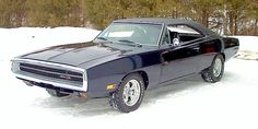 1970 Dodge Charger  -  This is my absolute ultimate dream ride.  1970 (Best Year)  Triple Black Dodge Charger  TAO