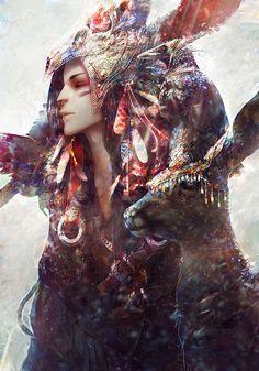 Forest Spirits by tincek-marincek