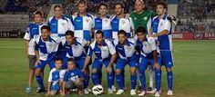 El Sabadell FC 2013 con los mexicanos Anibal Zurdo y Ulises Davila.