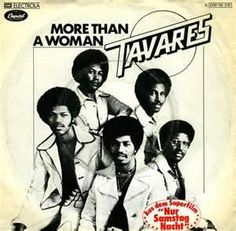Tavares are Cape Verdian-Americans, an R & B group of five brothers from Bedford, Massachusetts.