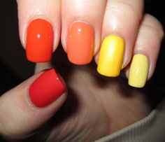 sunny ombre.