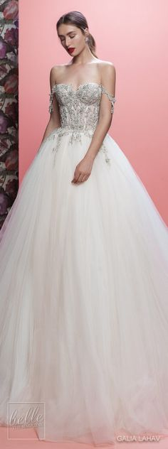 Wedding Dresses By Galia Lahav Couture Bridal Spring 2019 Collection- Queen of Hearts - Mia #weddingdress #weddingdresses #bridalgown #bridalgowns #bridal #bride #wedding #weddings