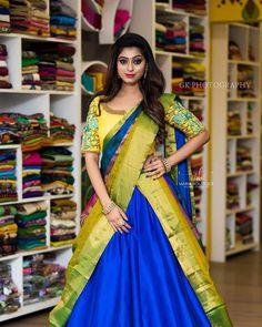 Shopzters Fusion Trends Cancan Saree With A Dope Twist Lehenga Saree Design, Pattu Saree Blouse Designs, Half Saree Designs, Lehenga Dupatta, Silk Sarees, Stylish Blouse Design, Stylish Dress Designs, Indian Lehenga, Indian Beauty Saree