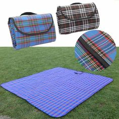 2x 2m Moisture-proof Waterproof Oxford Cloth Picnic Beach Mat Blanket C&ing Climb Home Waterproof : kc tent and awning - memphite.com