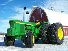6030 John Deere Antique Tractors, Vintage Tractors, Vintage Farm, Old John Deere Tractors, Jd Tractors, John Deere Equipment, Heavy Equipment, John Deere 6030, Tractor Mower