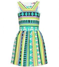 MSGM  Yellow Print Dress