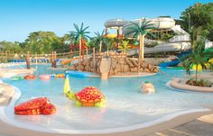 Caribbean Fun Resorts with water park. See some top all inclusive resorts that offer all the different forms of water sports activities for romantic and family vacation Best Resorts For Kids, Best Family Beaches, All Inclusive Family Resorts, Family Vacations, Family Cruise, Park Resorts, Vacation Resorts, Beach Resorts, Beach Vacations