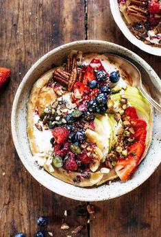 Make ahead paleo diet sweet potato breakfast bowl