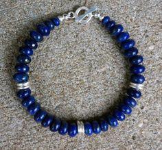 Handmade Genuine AA Plus Natural Blue Lapis by EurekaSpringsRocks