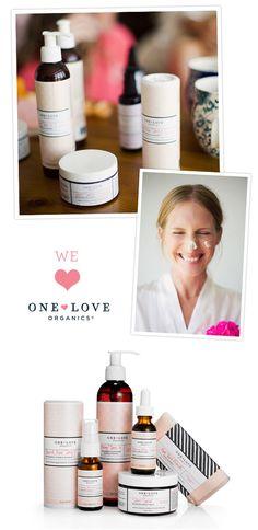 one love organics - love Skin Savior, Love Springs Eternal and Morning Glory