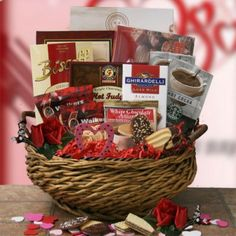 Happy valentines day sugar free gift basket by gift baskets etc shakespheres delight valentines day gift basket negle Images