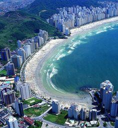Praia das Astúrias Guaruja brasil
