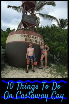 Castaway Cay, Disney's private island, is located in the Caribbean Sea. Most Caribbean itineraries give you at least a one day visit to this Bahamian playground. Here are 10 things to do on Castaway Cay that you are sure to enjoy: