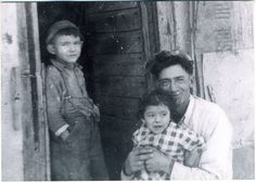 Louise's brother, Peter Ivan leaning against the door, her father Adolphus Half holding me. Residential Schools, Poetry Collection, Hold Me, Burns, Brother, Couple Photos, Couple Shots, Couple Pics, Couple Photography