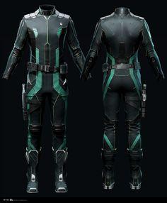 ArtStation - Eve Online - Exploration Suit, Andrei Cristea