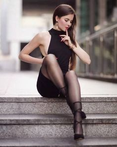 Long legs and nylons