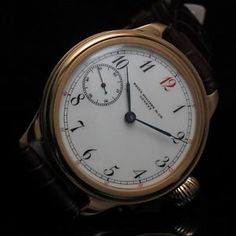 Mens ANTIQUE 1899 PATEK PHILIPPE & CO Vintage GOLD Watch PRECISION CHRONOMETER