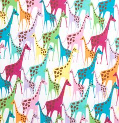 Cute fabric for kids!!  I can see adorable pillows made from this!!