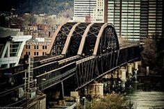 Old Railroad bridge Pittsburgh