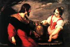 Bernardo Strozzi, Christ and the Samaritan Woman, 17th century