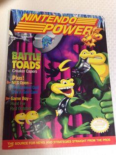 Nintendo Power Magazine Volume 25 June 1991 Battle Toads with Poster