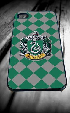 harry potter slytherin house for iPhone 4/4s/5/5S/5C/6, Samsung S3/S4/S5 Unique Case *95* - PHONECASELOVE