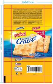 Resultado de imagem para embalagens de cream crackers
