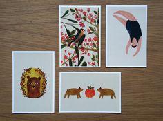 postcards by Maria Dek visit me: https://www.facebook.com/dekillustration