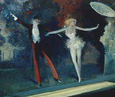 Everett Shinn, Curtain Call