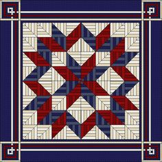 Quilt with traditional elements in modern design    The detailed quilt pattern - guides you through the entire process of the project  - makes it